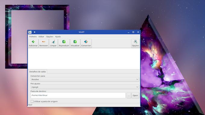 Converta os vídeos para editar no Davinci Resolve no Linux, e saiba como resolver o erro do Winff na interface Plasma!