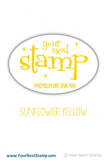 Premium Dye Ink Pad Sunflower Yellow