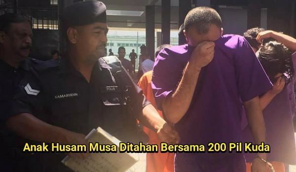 Pemuda Ditahan Bersama 200 Pil Kuda Anak Husam