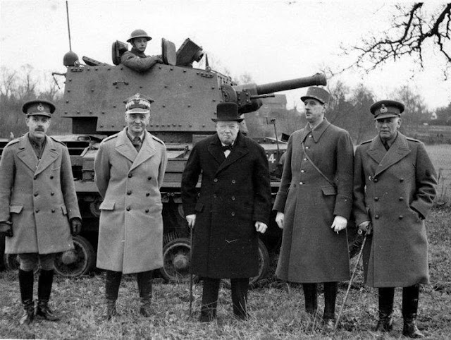 14 February 1941 worldwartwo.filminspector.com Winston Churchill Charles de Gaulle