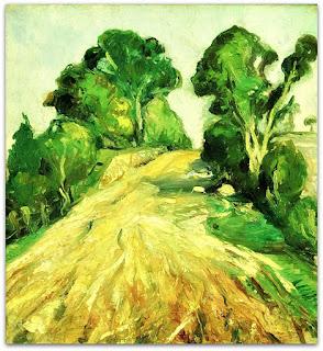 Iberê Camargo - Dentro do Mato (1941-1942) - óleo sobre tela