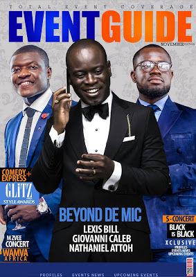 Lexis Bill, Nathaniel Attoh And Giovanni Cover New Edition Of Eventguide Magazine
