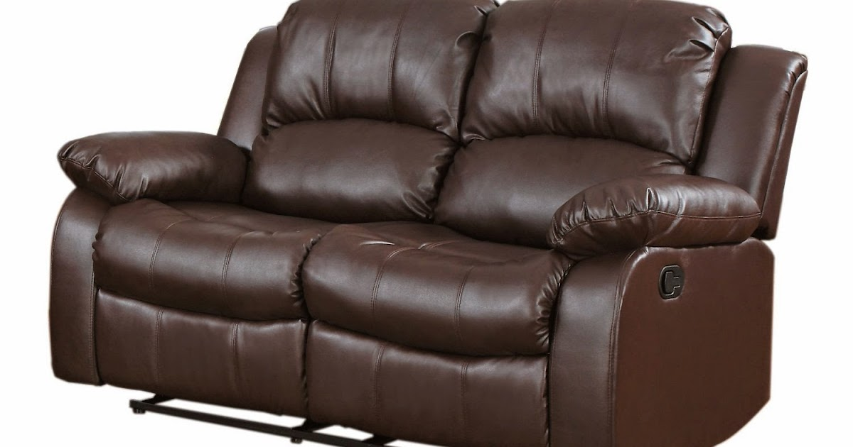 The best reclining sofas ratings reviews 2 seater leather for Blue leather reclining sofa