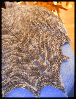 Grace's Skeleton Key Shawl