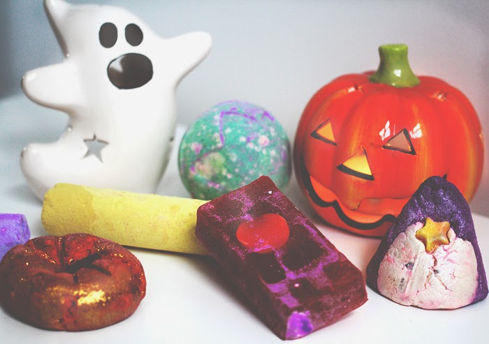 A blog post on the Halloween collection from Lush Cosmetics.