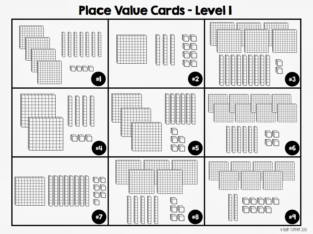 Math Place Value Expanded Form