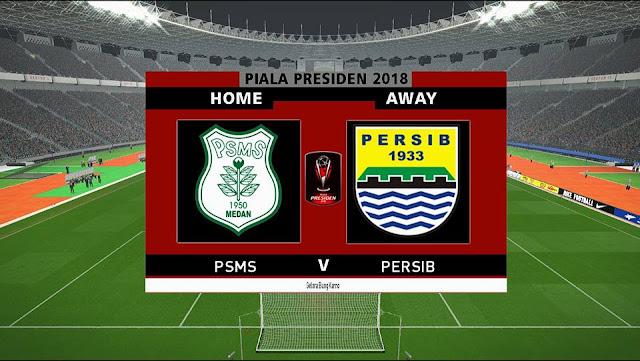 PES 2017 Piala Presiden 2018 Scoreboard