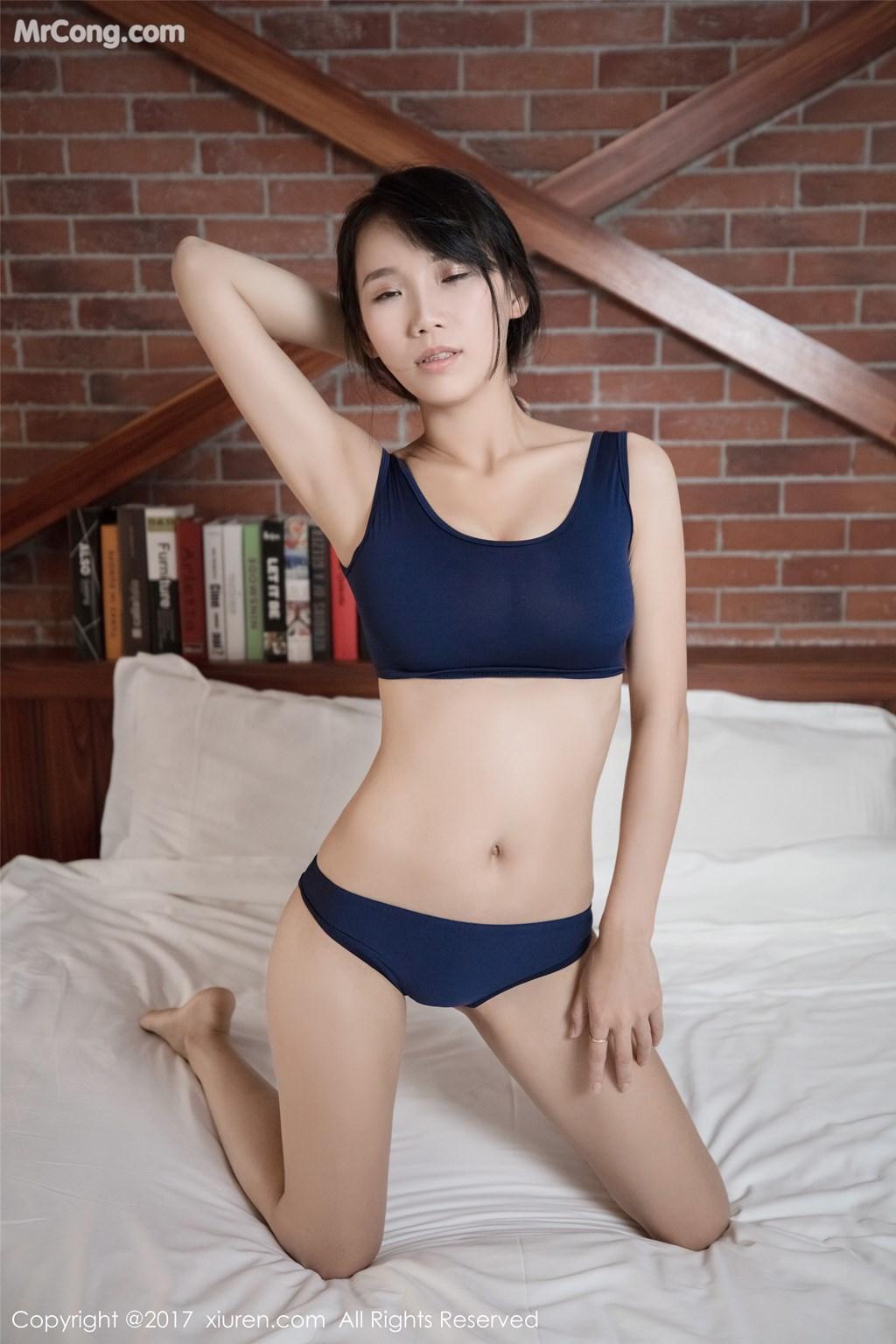 Image XIUREN-No.865-Li-Ke-Er-MrCong.com-002 in post XIUREN No.865: Người mẫu Li Ke Er (李可儿) (53 ảnh)