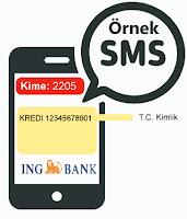 İng Bank Sms İle Kredi Başvurusu Nasıl Yapılır?
