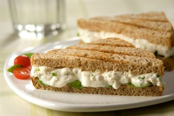 Resultado de imagem para sanduiche natural de ricota