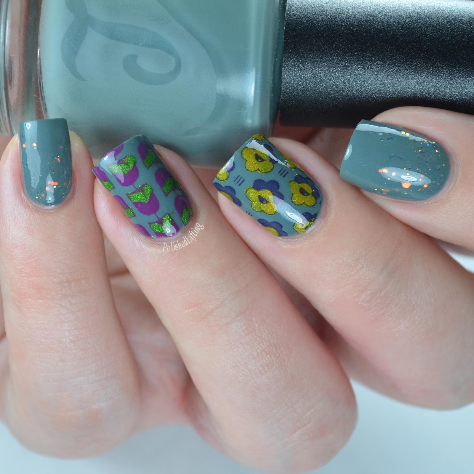 Polished lifting lou it yourself fallfetti collection nail art stamped flowers solutioingenieria Choice Image
