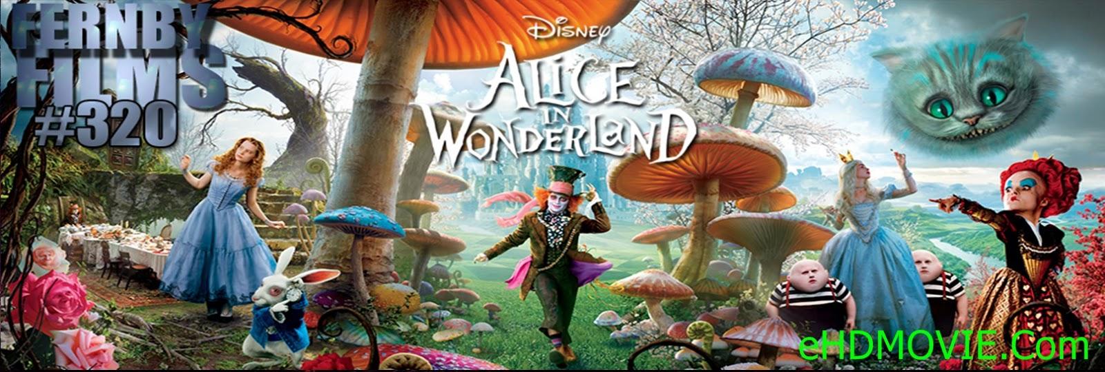 Alice In Wonderland 2010 Full Movie English 720p - 480p ORG BRRip 400MB - 900MB ESubs Free Download