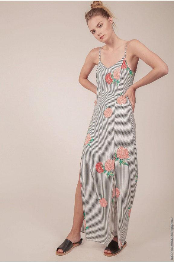 Moda verano 2018. Moda 2018 vestidos de verano largos y cortos.