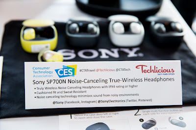 Sony SP700N true wireless earphones