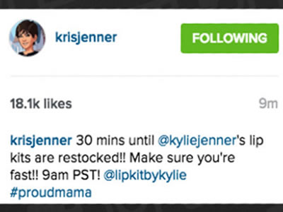 Customers Angry with Kylie Jenner lip Pack