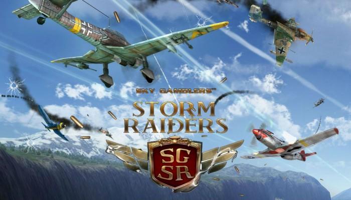 Game Offline Sky Gamblers Storm Raider APK + OBB  Download Terbaru