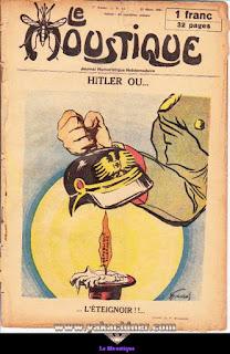 Le Moustique, Journal Humoristique Hebdomadaire, numéro 11, année 1931