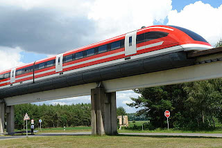 German Transrapid TR 09 Maglev