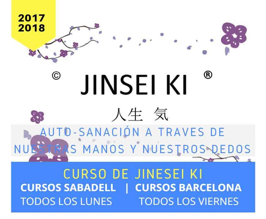 Cursos integrados de Jinsei Ki patrocinados por deixalatevaempremta.org