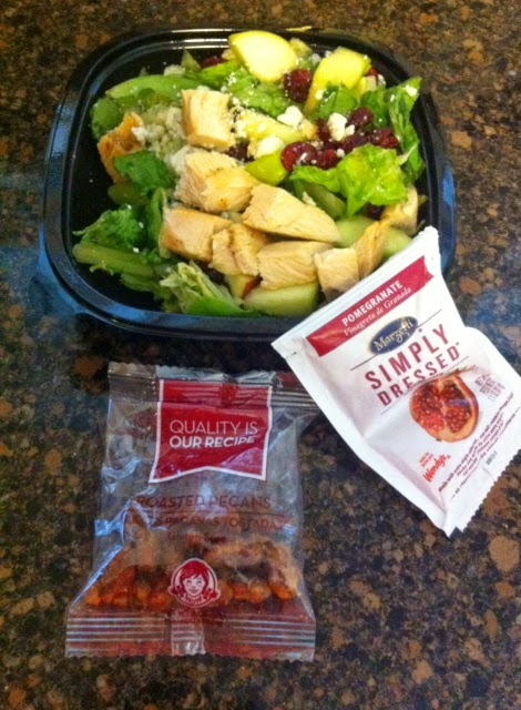 Wendy's-apple-pecan-salad-review
