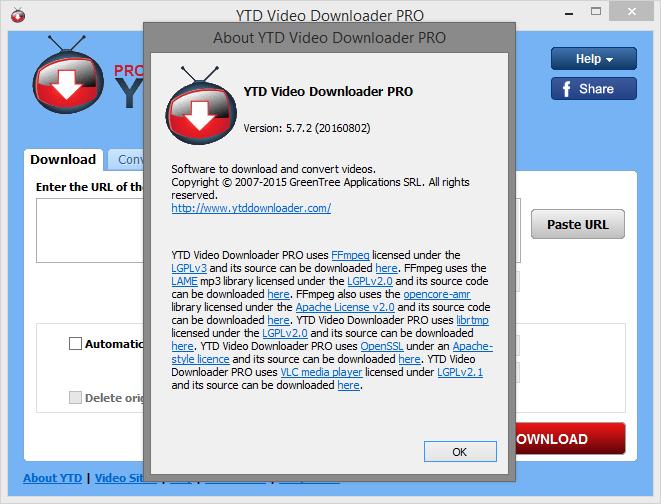 Serial Key: YTD Video Downloader PRO v5.7.2 (20160802 ...