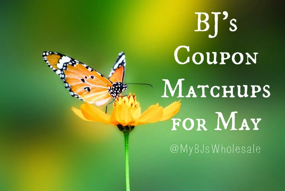 BJs Coupon Matchups for May 2014