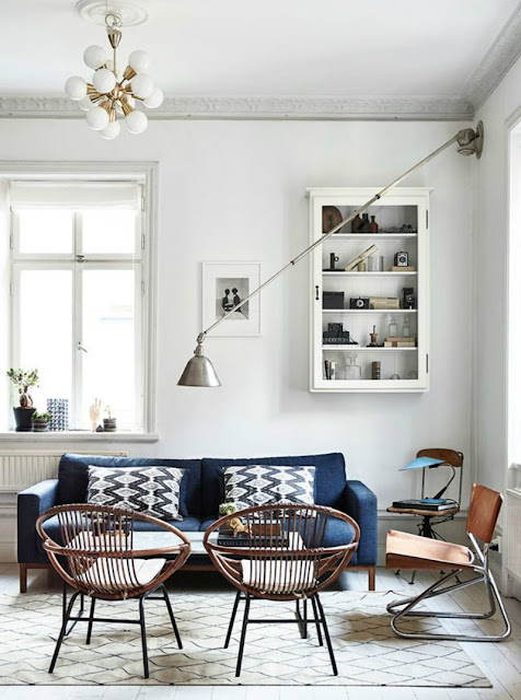 Interiors of Photographers in Stockholm by Cool Chic Style Fashion