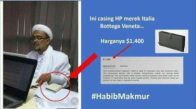 Casing HP Habib Rizieq