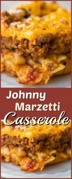 Johnny Marzetti Casserole  #maincourse #casserole #johnny #marzetti #casserole