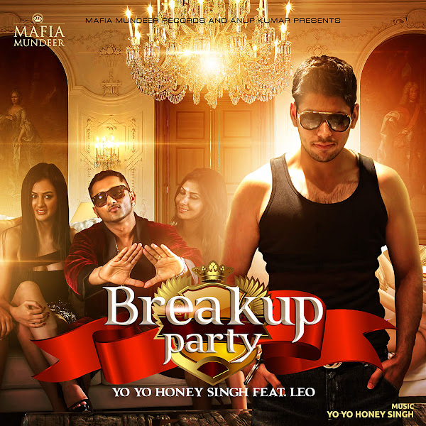 Honey Singh - Breakup Party (feat. Leo) - Single Cover