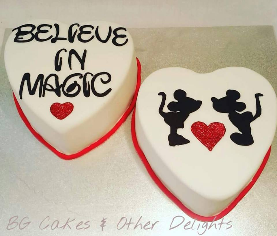 Cakes And Other Delights: Believe In Magic....Happy 40th