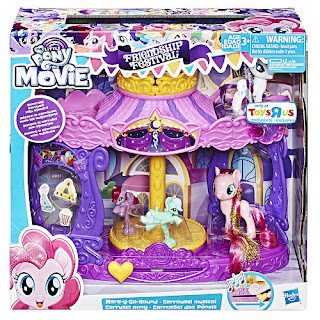 My Little Pony the Movie Mare-Y-Go-Round Friendship Festival Playset