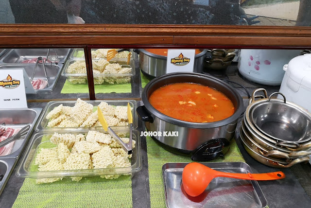 Best Cheap & Good Korean BBQ in Johor Bahru. Myeong Dong BBQ Buffet