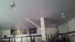 Forro PVC instalado