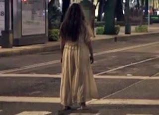 Imagen de La Llorona en la ciudad