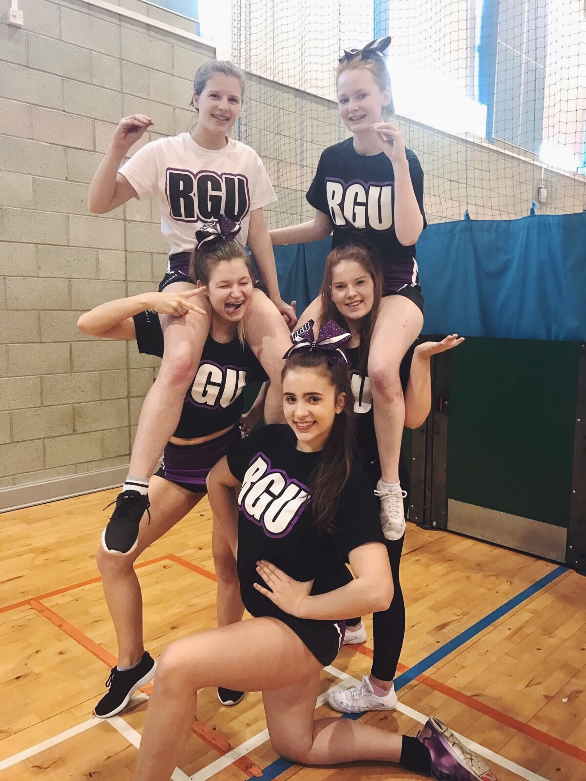 RGU Cheerleading Squad Level 1 Cobras