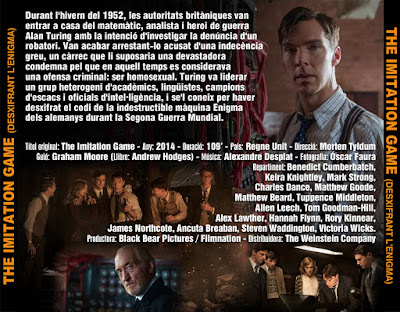 The imitation game (Desxifrant l'Enigma) - [2014]