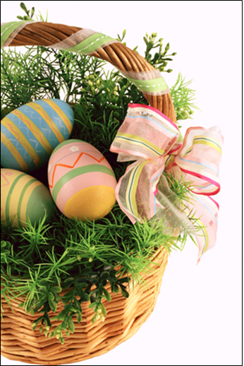 Romantic easter proposal ideas b2c jewels blog put together a romantic easter basket full of your future mates favorite things chocolates beautifully decorated eggs or candy eggs flowers and more negle Choice Image
