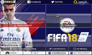 FTS 15 Mod FIFA 18 by Dimas Bagus Apk + Data Obb Android