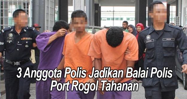 GEMPAR ! 3 Anggota Polis HENJUT Seorang Gadis Dalam BALAI POLIS ! Rupanya Macam Ni Cara Dorang 'AYAT' Perempuan Tu !