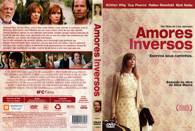 Capa DVD Amores Inversos