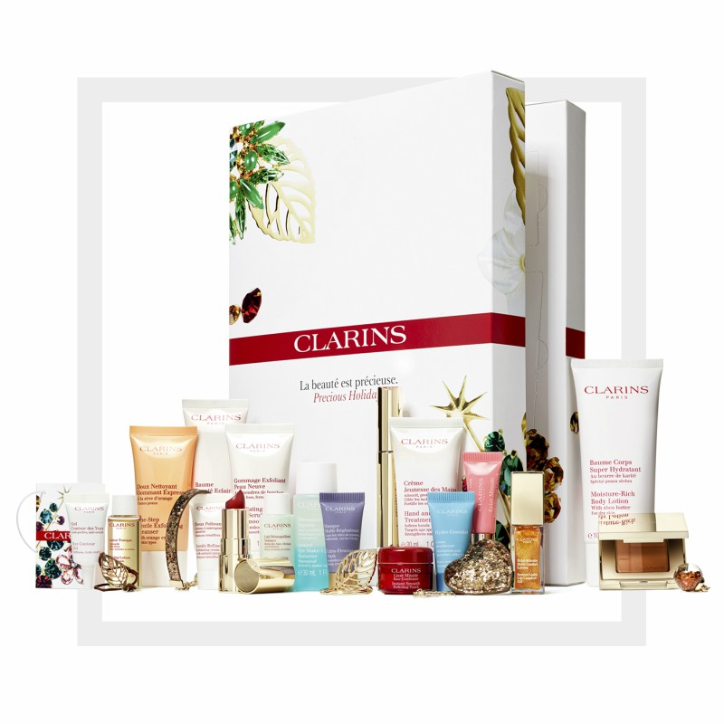 calendario de adviento Clarins 2017