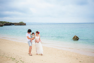 沖縄 マタニティフォト ビーチ