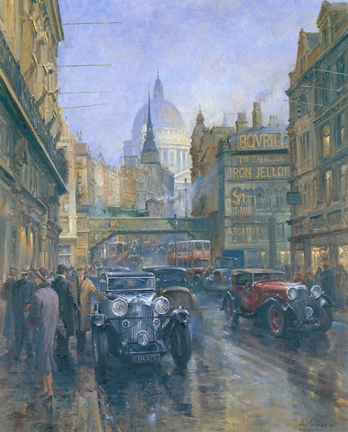 Alan Fearnley 1942 Retro And Classic Car Tutt'art