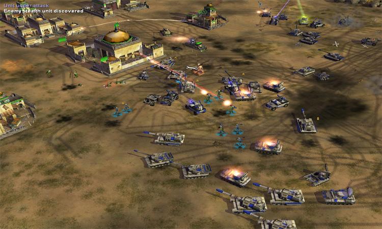 تحميل لعبة C&C Generals