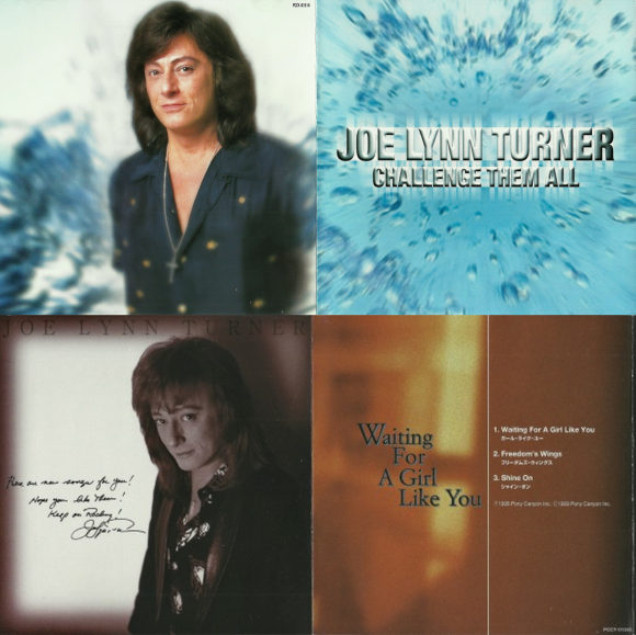 JOE LYNN TURNER - The Japanese maxi-singles - inside