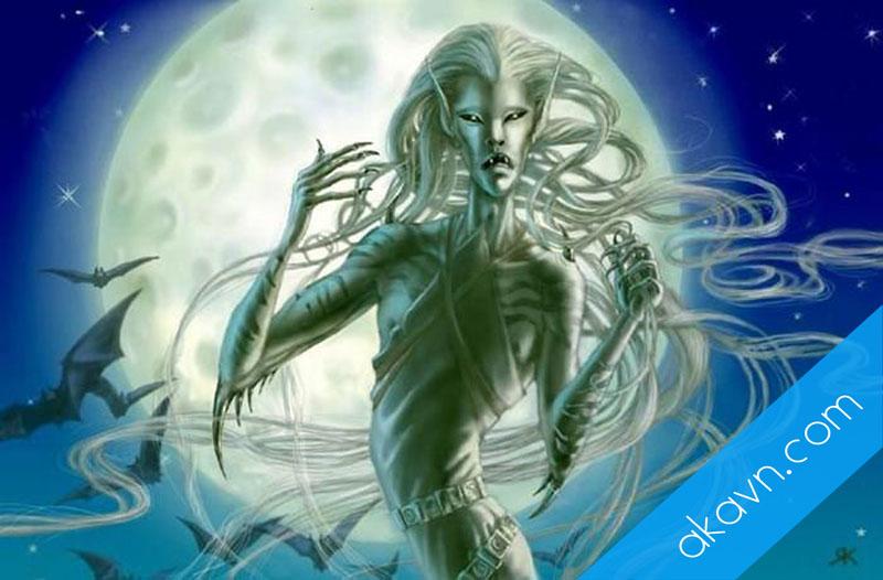 Giai thoại ly kỳ nữ thần báo tử khiến con người run sợ