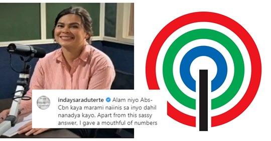 "Davao City Mayor Inday Sara Duterte slams ABS-CBN: ""Kaya marami naiinis sa inyo dahil nanadya kayo!"" | Pinoy Trend"