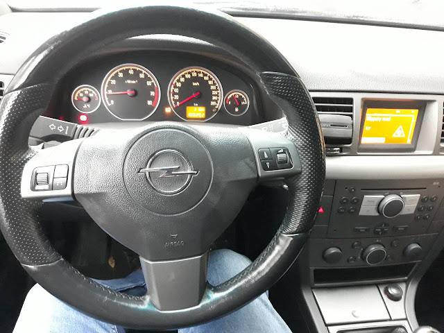 Vectra C steering wheel