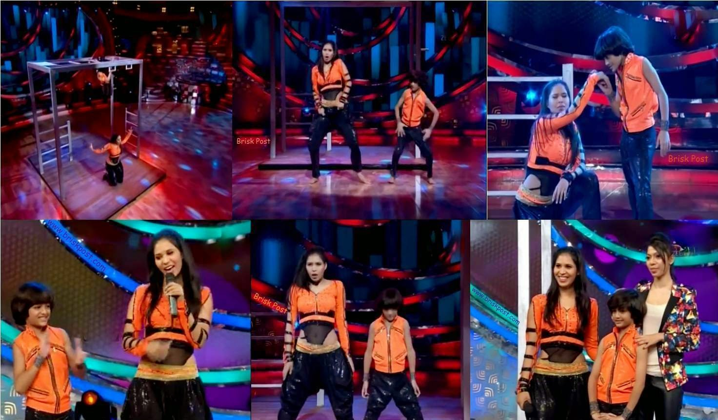 Dance performance of Alisha and Venkatesh at DID Little Masters